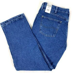 Lee Riders Indigo mens relaxed fit jeans